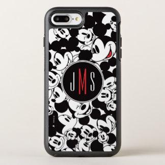 Mickey Mouse | Monogram Crowd Pattern OtterBox Symmetry iPhone 8 Plus/7 Plus Case