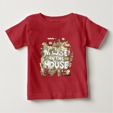 Disney Themed Mickey Mouse | Mouse In The House Baby T-Shirt