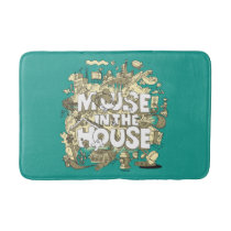 Mickey Mouse | Mouse In The House Bath Mat