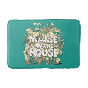 Disney Themed Mickey Mouse | Mouse In The House Bath Mat