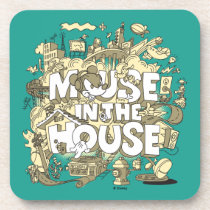 Mickey Mouse | Mouse In The House Beverage Coaster