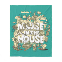 Mickey Mouse | Mouse In The House Fleece Blanket