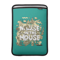 Mickey Mouse | Mouse In The House MacBook Sleeve