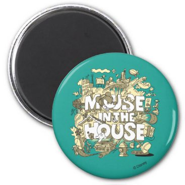 Disney Themed Mickey Mouse | Mouse In The House Magnet