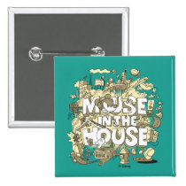 Mickey Mouse | Mouse In The House Pinback Button