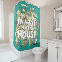 Mickey Mouse | Mouse In The House Shower Curtain