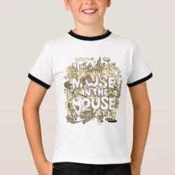 Kids' Basic Ringer T-Shirt with Pluto design
