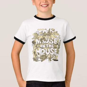 Disney Themed Mickey Mouse | Mouse In The House T-Shirt