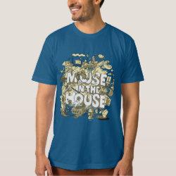 Men's American Apparel Organic T-Shirt with Pluto design