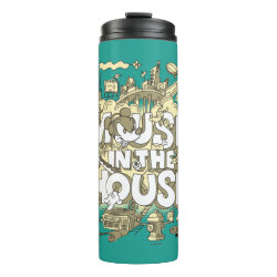 Thermal Tumbler with Pluto design