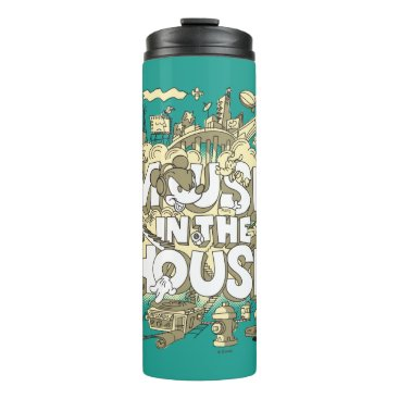 Disney Themed Mickey Mouse | Mouse In The House Thermal Tumbler