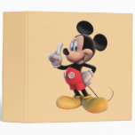Mickey Mouse Number 1 Binder