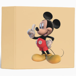 Mickey Mouse Number 1 Binders