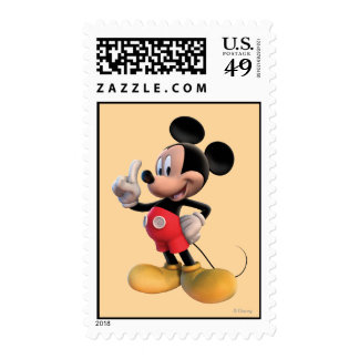Mickey Mouse Number 1 Postage Stamp