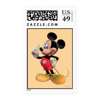 Mickey Mouse número 1 Sellos