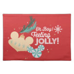 Mickey Mouse | Oh Boy! Feeling Jolly! Cloth Placemat