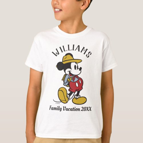 Mickey Mouse  Outdoor Mickey T_Shirt