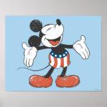 Mickey Mouse patriótico 2 Impresiones
