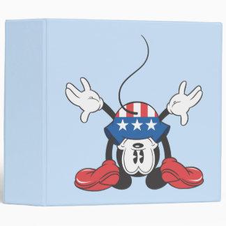 "Mickey Mouse patriótico 3 Carpeta 2"""