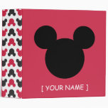 Mickey Mouse – Personalized 3 Ring Binder