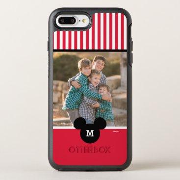 Disney Themed Mickey Mouse | Photo & Monogram OtterBox Symmetry iPhone 7 Plus Case