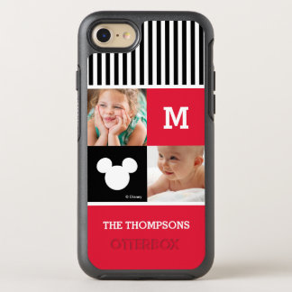Mickey Mouse | Photos & Monogram OtterBox Symmetry iPhone 8/7 Case