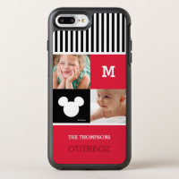 Mickey Mouse | Photos & Monogram OtterBox Symmetry iPhone 8 Plus/7 Plus Case