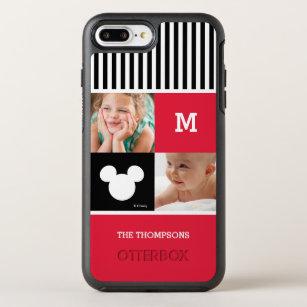 Mickey Mouse   Photos & Monogram OtterBox Symmetry iPhone 8 Plus/7 Plus Case