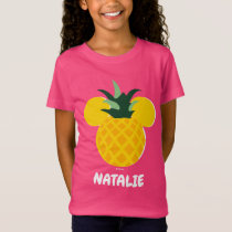 Mickey Mouse Pineapple Icon | Name T-Shirt