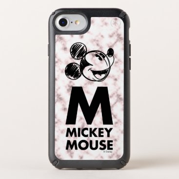 Mickey Mouse   Pink Marble Speck iPhone Case