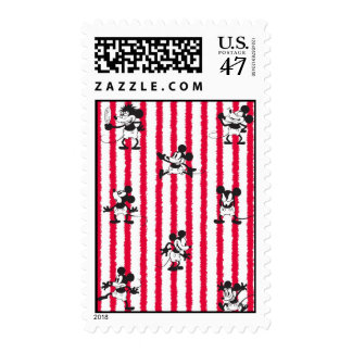 Mickey Mouse | Plane Crazy Pattern Postage