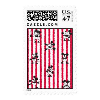 Mickey Mouse | Plane Crazy Pattern Postage