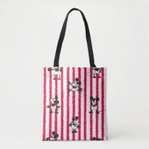 Mickey Mouse | Plane Crazy Pattern Tote Bag