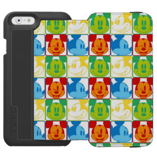 Mickey Mouse | Pop Art Pattern iPhone 6/6s Wallet Case