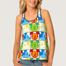 Mickey Mouse | Pop Art Pattern Tank Top