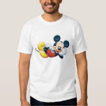 Mickey Mouse Posing for the Camera Tee Shirts