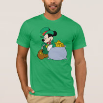 Mickey Mouse Pot of Gold | St. Patrick's Day T-Shirt