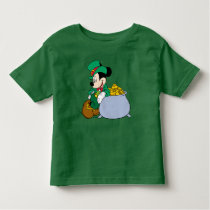 Mickey Mouse Pot of Gold | St. Patrick's Day Toddler T-shirt