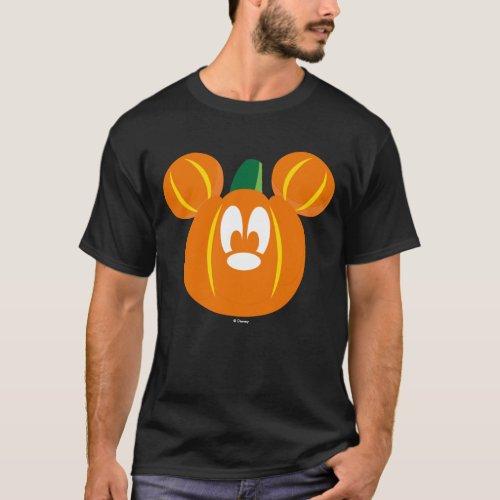 Mickey Mouse Pumpkin T_Shirt