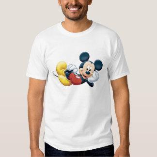 Mickey Mouse que presenta para la cámara Remera