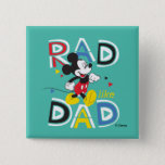 Mickey Mouse | Rad Like Dad Button