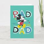 Mickey Mouse | Rad Like Dad Card