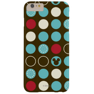 Mickey Mouse   Retro Polka Dot Pattern Barely There iPhone 6 Plus Case