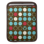 Mickey Mouse | Retro Polka Dot Pattern iPad Sleeves