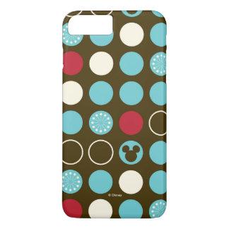 Mickey Mouse   Retro Polka Dot Pattern iPhone 7 Plus Case