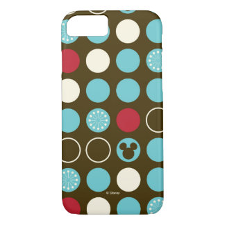 Mickey Mouse | Retro Polka Dot Pattern iPhone 8/7 Case
