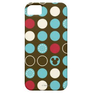 Mickey Mouse   Retro Polka Dot Pattern iPhone SE/5/5s Case
