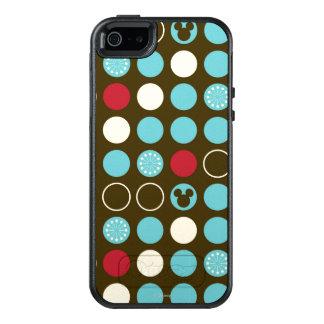 Mickey Mouse   Retro Polka Dot Pattern OtterBox iPhone 5/5s/SE Case