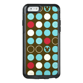 Mickey Mouse | Retro Polka Dot Pattern OtterBox iPhone 6/6s Case