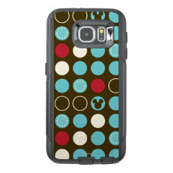 OtterBox Commuter Samsung Galaxy S6 Case with Mickey Mouse Patterns design